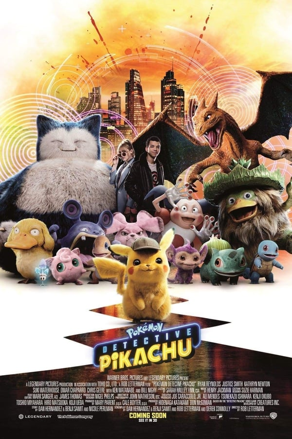 Watch Pokemon Detective Pikachu (2019) Online